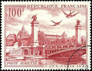 1949 France #C28, Complete Set, Used