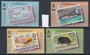 British Indian Ocean Territory 1990 London 90 Stamp Exhibition  MNH CV £28.00