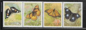 MICRONESIA, 182-183 MNH,2 PAIRS, BUTTERFLY TYPE