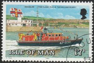 Isle Of Man, #463 Used From 1991