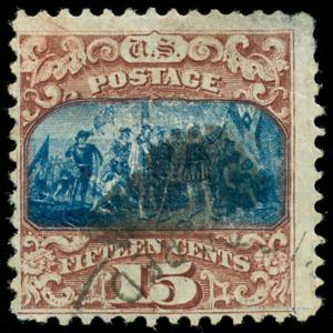 momen: US Stamps #119 Used F/VF