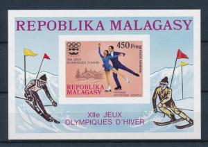 [55748] Madagascar 1975 Olympic games Figure skating Imperforated MNH Sheet
