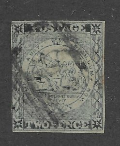 New South Wales #5 Used - Stamp CAT VALUE $425.00