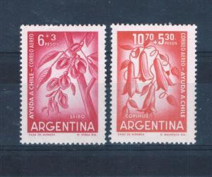Argentina CB23-24 MNH set Flowers (A0200)