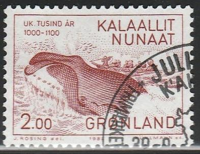 Greenland, #148 Used From 1982