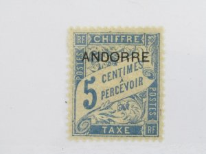 French Andorra J1