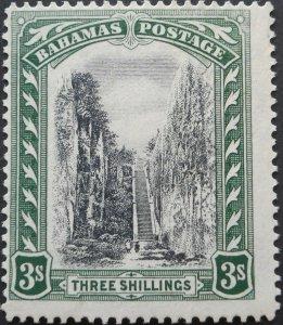 Bahamas 1924 Three Shillings SG 114 mint