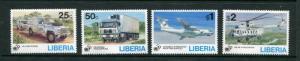 Liberia #1187-90 MNH - Make Me A Reasonable Offer!