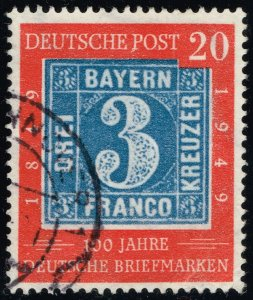 Germany #667 Bavaria Stamp; Used (2Stars)