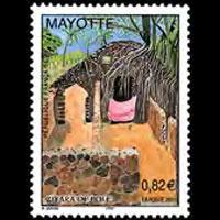 MAYOTTE 2003 - Scott# 191 Ziyara de Pole Set of 1 NH