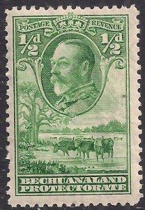 Bechuanaland 1932 KGV 1/2d Green Umm SG 99 ( A929 )