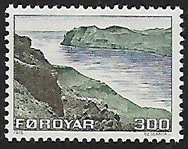 Faroe Islands # 17 - Streymoy & Vagar - MNH