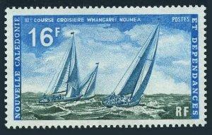 New Caledonia 389,MNH. Michel 500. Sailing cruise,1971.Racing yachts.