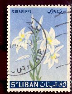 Lebanon; 1964: Sc. # C391: O/Used Single Stamp