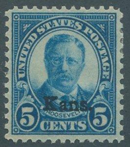 US Scott #663, Mint, VF, Hinge Remnant