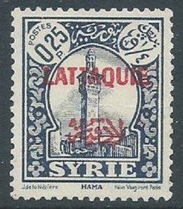 Latakia, Sc #6, 25c MH