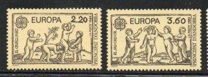 Andorra (Fr) Sc 372-3 1989 Europa stamp set  mint NH