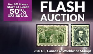 Flash Stamp Auction #163