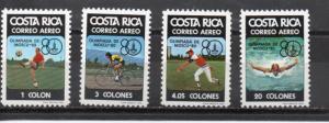 Costa Rica C782-C785 MNH