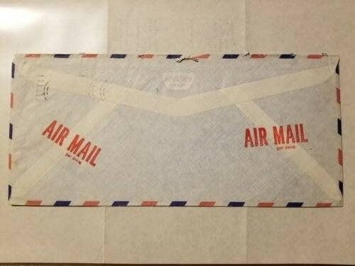 SAUDI ARABIA 1980 AIR MAIL COVER TO USA With Letter from ARAMCO DHAHRAN