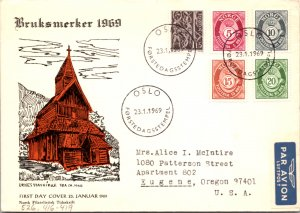 Norway, Worldwide First Day Cover