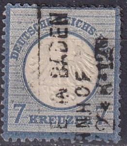 Germany #10  F-VF Used CV $95.00 (A18893)