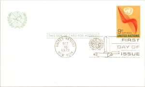 United Nations, New York, Government Postal Card, Worldwide First Day Cover