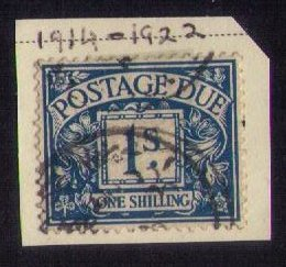 Great Britain Sc J8  Postage Due Used F-VF