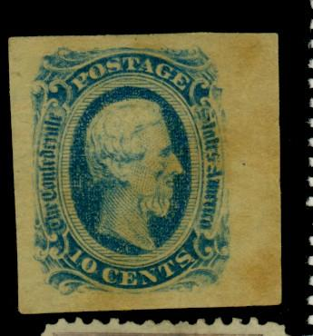 CSA #12d MINT XF No Gum Slight TOning Paper HR Cat$12