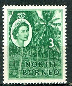 North Borneo 1957: Sc. # 263; **/MNH Single Stamp