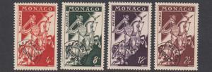 Monaco 321-324 MLH CV $20.00