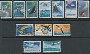 Australian Antarctic Territory L23-L34 MNH (1973)