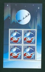 Greenland. Souvenir Sheet 2003  MNH. Christmas Stamps. Father Christmas.