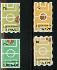 Surinam 378-381 Mint VF NH
