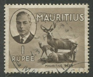 STAMP STATION PERTH Mauritius #246 KGVI Definitive Issue Used 1950