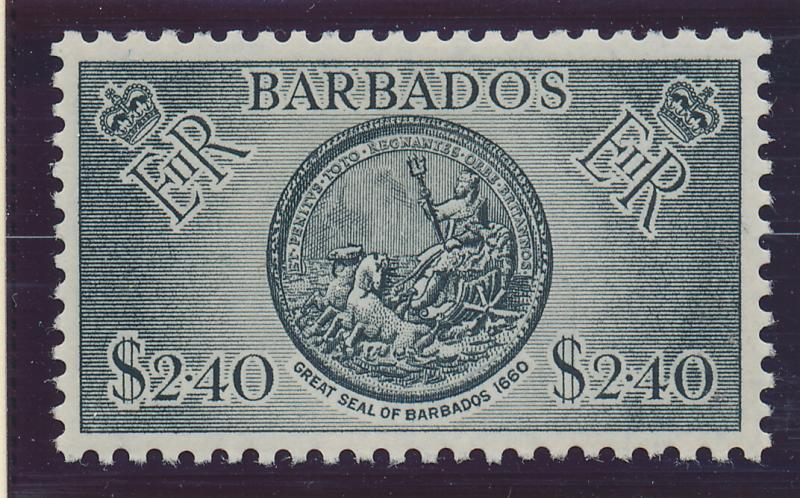 Barbados Stamp Scott #264, Mint Hinged - Free U.S. Shipping, Free Worldwide S...