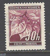 Bohemia and Moravia Sc # 24 used (DDT)
