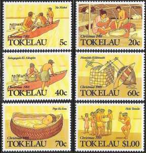 Tokelau 157-162 MNH - Island Christmas