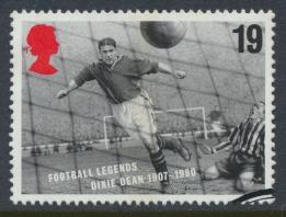 Great Britain  SG 1925 SC# 1663 Used / FU  Football Legends