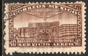 MEXICO C171, 10c 1934 Definitive Wmk Gobierno... 279 USED. F-VF. (113)