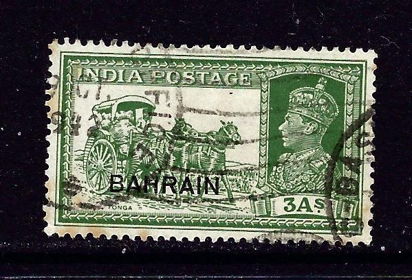 Bahrain 26 Used 1938 overprint issue