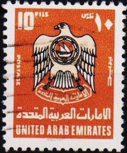 UAE.1977 10f S.G.81 Fine Used
