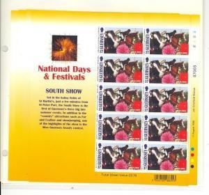 Guernsey Scott 636-639 Mint NH sheets (Europa) - Catalog Value $45.50