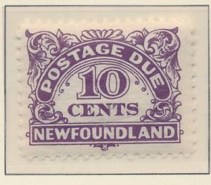 Newfoundland (Canada) Stamp Scott #J7, Mint Never Hinged - Free U.S. Shipping...
