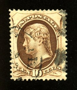 US #161 Used VF-XF Cat$25