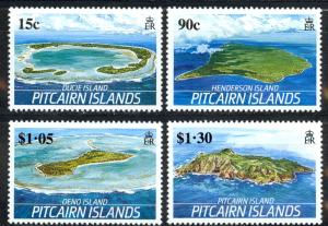 Pitcairn Islands Sc# 327-330 MNH 1989 The Islands