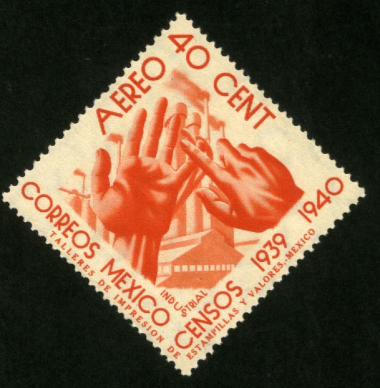 MEXICO C101, 40c Census, 1940. MINT, NH. F-VF.
