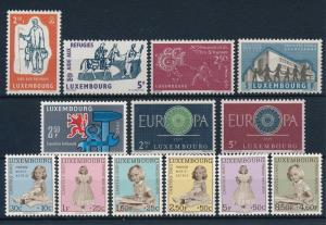 Luxembourg Luxemburg 1960 Commerative Year Set  MNH