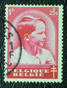 Belgium Scott #B185 used