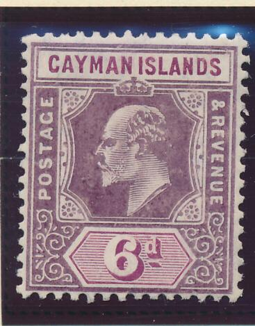 Cayman Islands Stamp Scott #26, Mint Hinged - Free U.S. Shipping, Free Worldw...